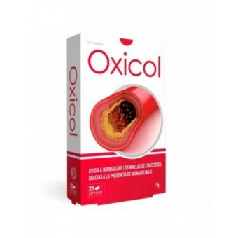 Oxicol complemento alimenticio colesterol 28 caps